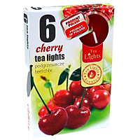 Hộp 6 nến thơm tinh dầu Tealight Admit Cherry PTT026087 - quả anh đào