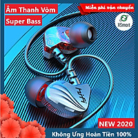 Tai Nghe Nhét Tai XSmart HiFi S2000 Pro Super Bass Chống Ồn Cực Tốt, Âm Thanh Khủng, Chơi Game Ngon - Hàng Chính Hãng