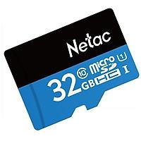 Thẻ Nhớ Class 10 Micro SDHC Netac 32Gb - Hàng Chính Hãng