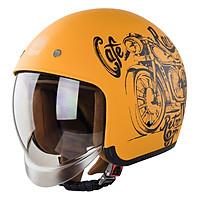 Mũ Bảo Hiểm 3/4 Đầu Royal M139 Design