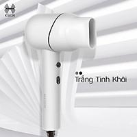 Máy sấy tóc Ion K.SKIN KD318 làm khô nhanh, giúp tóc mềm mượt, 2 chế độ sấy nóng lạnh, không gây ồn