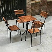 Bộ Bàn Ghế Kite Fansipan (gồm 1 bàn 4 ghế)
