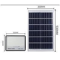 Đèn Năng Lượng Mặt Trời 200W - Tiêu Chuẩn  IP67 Chống Thấm Nước,  Kiểu Ánh Sao Chống Chói, Có Remote