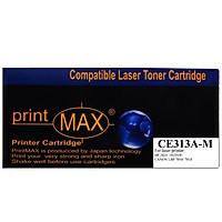 Hộp mực in Laser màu Đỏ PrintMAX dành cho máy HP CE313A ( M ) - Canon 7018 – Hàng Chính Hãng
