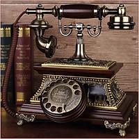 Điện thoại để bàn tân cổ điển phím quay cao cấp DT14
