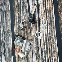Khóa xe dành cho Wave RSX 110 có 2 dây - Bộ ổ khóa xe RSX 110 2 cạnh - TB2807