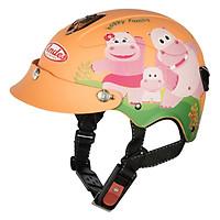 Mũ Bảo Hiểm Trẻ Em Andes 3S108S Tem Nhám S1004