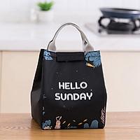 Túi đựng cơm trưa văn phòng tiện lợi, phù hợp cho cả nam và nữ