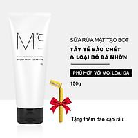 [ Tặng dao cạo râu ] Sữa rửa mặt nam MdoC Relief Foam Cleansing 150g loại bỏ bã nhờn sạch sâu JN-MRM03