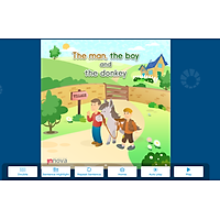 [E-BOOK] i-Learn Smart Start 2 Truyện đọc - The man, the boy and the donkey