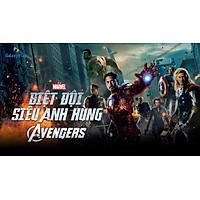 E-Voucher Phim Thuê Marvel's The Avengers - Biệt Đội Siêu Anh Hùng