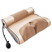 Gối massage Hồng ngoại kép đốt nóng kết hợp thảo dược (BẢN 2 MẢNH)