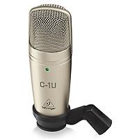 Micro thu âm Behringer C-1U- USB Studio Condenser Microphone- Hàng chính hãng
