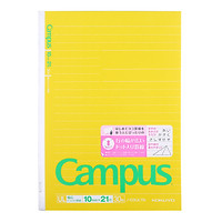(KOKUYO) Japan imported Campus point line notebook child (10mm wide line distance) 5 installed B5 / 30 pages yellow NO-D3ULTN