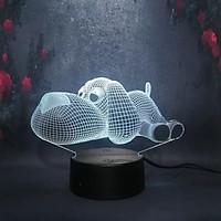 Đèn ngủ 3D CHÓ CON, đèn trang trí, quà tặng sinh nhật độc đáo