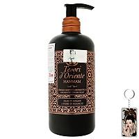 Sữa tắm nước hoa Tesori d'Oriente Hammam Olio Di Argan Cream Soap 300ml + Móc khóa