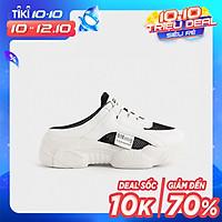 Giày Thể Thao Nữ Sneaker S18 Hở Gót 3P - GSK384