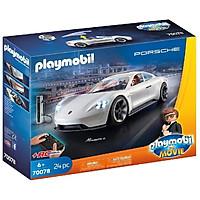 Đồ chơi Xe điều khiển từ xa Playmobil Porsche Mission E của Rex Dasher