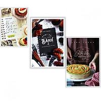 Combo Nhật kí làm bánh ( trọn bộ 3 tập - Tặng kèm bookmark PD )