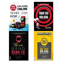 Combo 4 cuốn sách : 43 Bí mật bán hàng online tuyệt đỉnh: Những điều chủ shop nghìn đơn không bao giờ tiết lộ-Bán hàng, quảng cáo và kiếm tiền trên FB-Thôi miên bằng ngôn từ-Hành Trình 30 Ngày Trở Thành Bậc Thầy Bán Hàng Qua Điện Thoạitv
