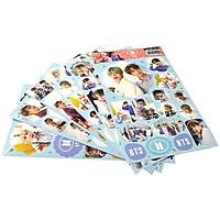 Set 7 Tấm Hình Sticker Nhóm Nhạc BTS - Mẫu 3