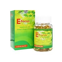 Viên Uống Vitamin E Efocus Natural – Cung Cấp Vitamin E, Omega 369, Vitamin A, Vitamin D3, EPA, DHA Phù Hợp Cho Mọi Đối Tượng Phụ Nữ,Nam Giới, Bà Bầu, Người Già