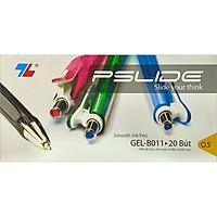 Hộp 20 Bút Bi Thiên Long Gel B-11 - Đen - New