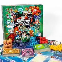 Bộ đồ chơi chính hãng siêu thú ngân hà-board game lớp học mật ngữ vô cùng thú vị