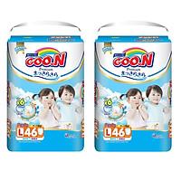 2 Gói  Tã Quần Goo.n Premium Gói Cực Đại L46 (46 Miếng)