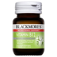 Viên uống vitamin Blackmores Vitamin B12 (Cyanocobalamin) 100mcg 75 Tablets