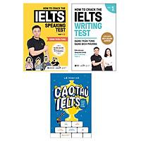 Combo Luyện Thi IELTS Để Đạt Điểm Số Cao : How To Crack The IELTS Speaking Test - Part 1 + How To Crack The IELTS Writing Test - Vol 1 (Tái Bản Bổ Sung 2020) + Cao Thủ IELTS Đuổi Theo Chín Chấm