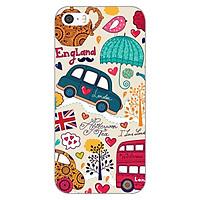 Ốp lưng dẻo cho Apple iPhone 5 / 5s _London 01