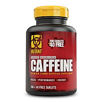 Thực phẩm bổ sung năng lượng Pe-Workout MUTANT CAFFEIN (240 Viên)