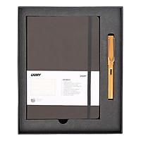Gift Set Lamy Notebook A5 Softcover Umbra + Lamy Al-Star Bronze - GSNAl0015