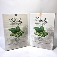Combo 02 Hộp Nấm Giảm Cân Sbody Green Coffee - Giảm thèm ăn không gây hại cho Sức Khoẻ - Tinh chất Cafe Xanh giàu chất chống Oxy Hoá - Hộp 12 gói / 180G