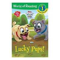 World of Reading Series: Level 1 Word Swap Reader: Puppy Dog Pals: Lucky Pups