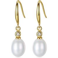 Bông Tai Ngọc Trai Cao Cấp B1932 Cỡ Hạt 11x13 Ly Bảo Ngọc Jewelry