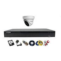 Camera Longse TVI 2.0MP 1080p bộ 1 mắt (Nhựa)