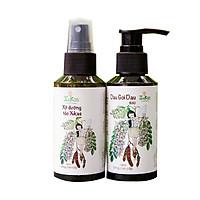 (Size vừa) Bộ Xukas thảo dược - Ngăn rụng tóc & kích thích mọc tóc