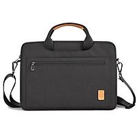 Cặp đựng Laptop,Macbook 13 - 15.6 inch - Chống Sốc Tốt - Ngăn đựng rộng - W348 (Màu đen)