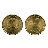 Xu 2000 đồng Việt nam 2003, combo 5 viên