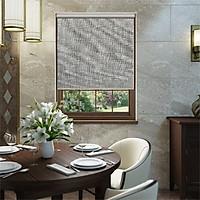 Rèm cuốn chống nắng vải polyester cao cấp - nguyên thanh treo ngang - bề ngang cố định 1m - mã BTP AC592