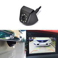 Univeral Metal Dynamic Trajectory Parking System Car Rear view Camera Backup LED Lights Night Vision Reverse Camera Video