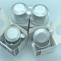 (Combo 4 Phin Cao Cấp) Phin pha cà phê Nhôm Trung Nguyên - Có Hộp Giấy