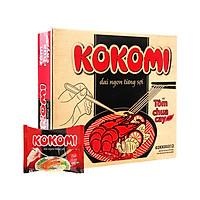 Thùng 30 gói mì Kokomi Tôm chua cay 65g