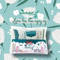 Combo Túi Du Lịch - 3 size Băng vệ sinh Thảo Dược Hàn Quốc Herbday