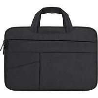 Túi chống sốc laptop BUBM 7 ngăn, có quai xách, vải chống thấm dành cho macbook pro, laptop 13 inch, 14 inch, 15 inch, 15.6 inch-Hàng chính hãng