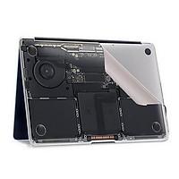 Màng bảo vệ phần đế và thân máy đặc biệt cho Macbook( Pro13 No Touch Bar A1708) ZIYA X SKINAT