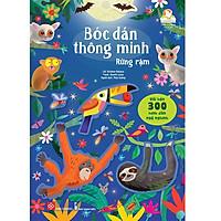 Sách Bóc Dán Thông Minh Sticker Cho Bé 3- 8 tuổi