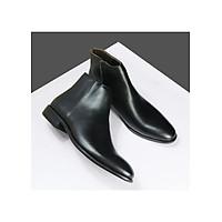 Mẫu giày cao cổ boots phiên bản kéo khóa ( Zip boots )